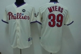 Philadelphia Phillies #39 Brett Myers Stitched Cream MLB Jersey