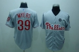 Philadelphia Phillies #39 Brett Myers Stitched Grey MLB Jersey