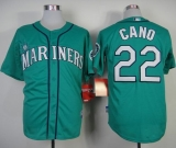Seattle Mariners #22 Robinson Cano Green Alternate Cool Base Stitched MLB Jersey