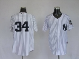 New York Yankees #34 Brian McCann White Stitched MLB Jersey