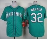Seattle Mariners #32 Taijuan Walker Green Alternate Cool Base Stitched MLB Jersey