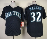 Seattle Mariners #32 Taijuan Walker Navy Blue Cool Base Stitched MLB Jersey