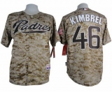 San Diego Padres #46 Craig Kimbrel Camo Alternate 2 Cool Base Stitched MLB Jersey