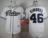 San Diego Padres #46 Craig Kimbrel White Cool Base Stitched MLB Jersey