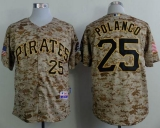 Pittsburgh Pirates #25 Gregory Polanco Camo Alternate Cool Base Stitched MLB Jersey