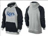 Tampa Bay Rays Pullover Hoodie Grey & Blue