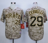 Pittsburgh Pirates #29 Francisco Cervelli Camo Alternate Cool Base Stitched MLB Jersey
