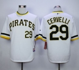 Pittsburgh Pirates #29 Francisco Cervelli White Alternate 2 Cool Base Stitched MLB Jersey