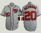 Washington Nationals #20 Ian Desmond White Cool Base Stitched MLB Jersey