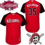 Pittsburgh Pirates #35 Mark Melancon Red 2015 All-Star National League Stitched MLB Jersey