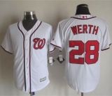 Washington Nationals #28 Jayson Werth White New Cool Base Stitched MLB Jersey