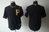 Pittsburgh Pirates Blank Black Cool Base Stitched MLB Jersey
