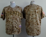 Pittsburgh Pirates Blank Camo Alternate Cool Base Stitched MLB Jersey
