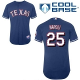 Texas Rangers #25 Mike Napoli Blue Cool Base Stitched MLB Jersey