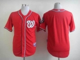 Washington Nationals Blank Red Cool Base Stitched MLB Jersey