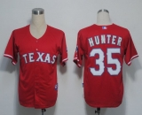 Texas Rangers #35 Tommy Hunter Red Cool Base Stitched MLB Jersey