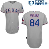 Texas Rangers #84 Prince Fielder Grey Cool Base Stitched MLB Jersey
