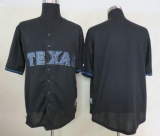 Texas Rangers Blank Black Fashion Stitched MLB Jersey