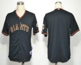 San Francisco Giants Blank Black Cool Base Stitched MLB Jersey