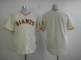 San Francisco Giants Blank Cream Cool Base Stitched MLB Jersey