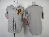 San Francisco Giants Blank Grey Cool Base 2012 Road 2 Stitched MLB Jersey