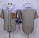 San Francisco Giants Blank Grey Road 2 New Cool Base Stitched MLB Jersey