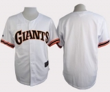San Francisco Giants Blank White 1989 Turn Back The Clock Stitched MLB Jersey