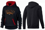 San Francisco Giants Pullover Hoodie Black & Red