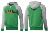 San Francisco Giants Pullover Hoodie Green & Grey