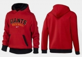 San Francisco Giants Pullover Hoodie Red & Black