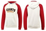 San Francisco Giants Pullover Hoodie White & Red