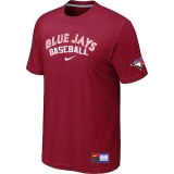 Toronto Blue Jays Red Nike Short Sleeve Practice T-Shirt