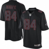 Nike Falcons #84 Roddy White Black Men\'s Stitched NFL Impact Limited Jersey