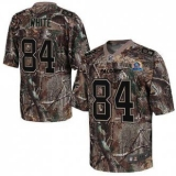 Nike Falcons #84 Roddy White Camo With Hall of Fame 50th Patch Men\'s Stitched NFL Realtree Elite Jersey