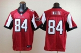 Nike Falcons #84 Roddy White Red Team Color Men\'s Stitched NFL Elite Jersey