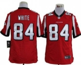 Nike Falcons #84 Roddy White Red Team Color Men\'s Stitched NFL Game Jersey