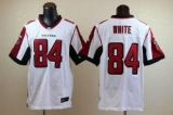 Nike Falcons #84 Roddy White White Men\'s Stitched NFL Elite Jersey