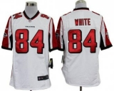 Nike Falcons #84 Roddy White White Men\'s Stitched NFL Game Jersey
