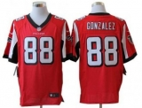 Nike Falcons #88 Tony Gonzalez Red Team Color Men\'s Stitched NFL Elite Jersey