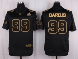 Nike Buffalo Bills #99 Marcell Dareus Black Men\'s Stitched NFL Elite Pro Line Gold Collection Jersey