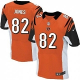 Nike Cincinnati Bengals #82 Marvin Jones Orange NFL Elite Jersey