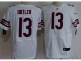 Nike Chicago Bears 13 Brice Butler White Elite NFL Jerseys