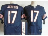 Nike Chicago Bears 17 Alshon Jeffery Blue Signed Elite NFL Jerseys