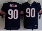 Nike Chicago Bears 90 Ratliff Blue Elite NFL Jerseys