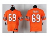 Nike jerseys chicago bears #69 allen orange