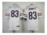 Nike Jerseys Chicago Bears 83 Bennett white Elite