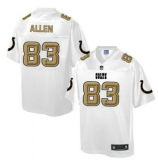 Nike Indianapolis Colts #83 Dwayne Allen White Men\'s NFL Pro Line Fashion Game Jersey