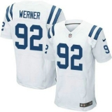 Nike Indianapolis Colts #92 Bjoern Werner White NFL Elite Jersey