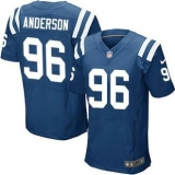 Nike Indianapolis Colts #96 Henry Anderson Royal Blue Team Color Men\'s Stitched NFL Elite Jersey
