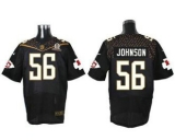 Nike Kansas City Chiefs #56 Derrick Johnson Black 2016 Pro Bowl Men\'s Stitched NFL Elite Jersey